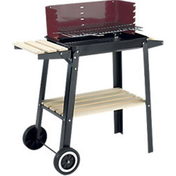 Landmann Charcoal Grill Chief Wagon BBQ - Black