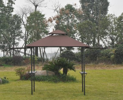 Outsunny 250L x 150W cm Waterproof Canopy Awing-Coffee